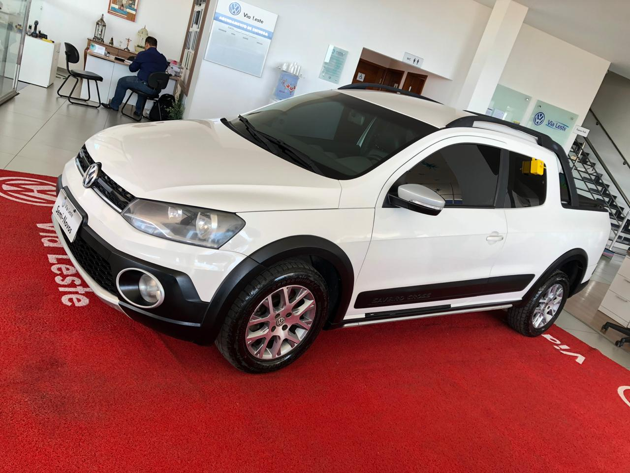 VOLKSWAGEN SAVEIRO CROSS CD<br>R$ 53.900,00